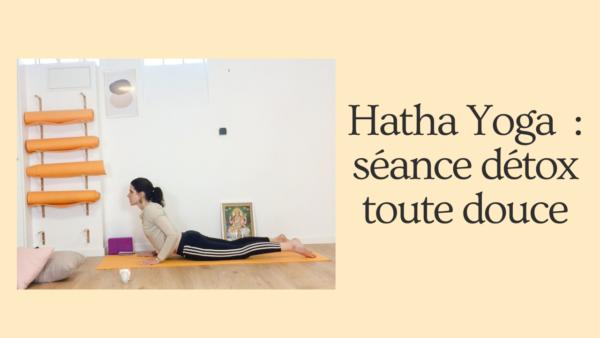 Hatha Yoga-séance detox toute douce